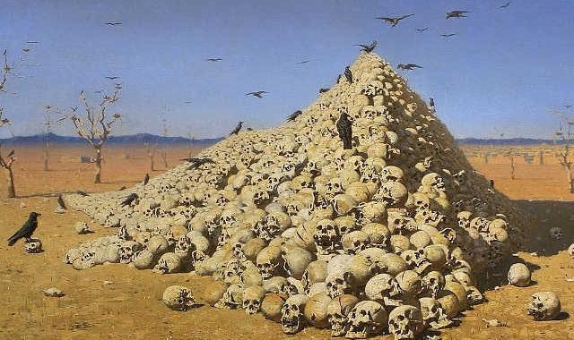 В. В. Верещагин. «Апофеоз войны» (1878)