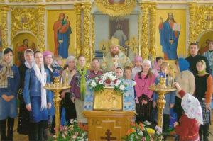 Владыка Зосима и Воскресная школа Преображенского храма г. Якутска