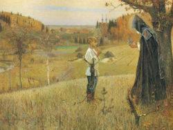 Преподобный Сергий Радонежский в детстве учился… плохо