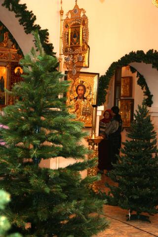 Рождество в Преображенском храме, Якутск