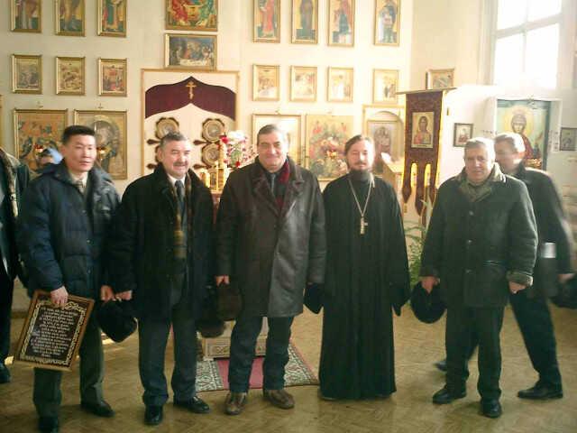 Вячеслав Штыров в Рождественском храме