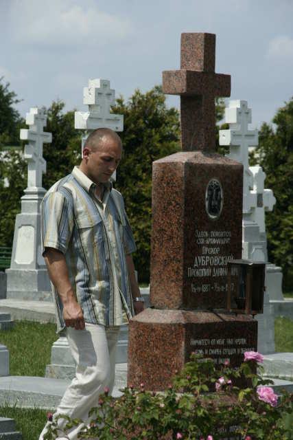 Молитва на кладбище