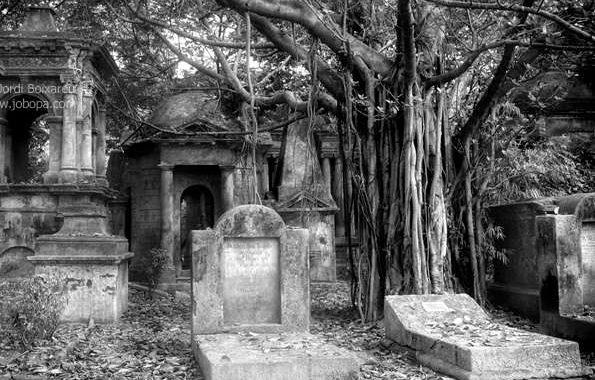 Калькутта, кладбище, христиане