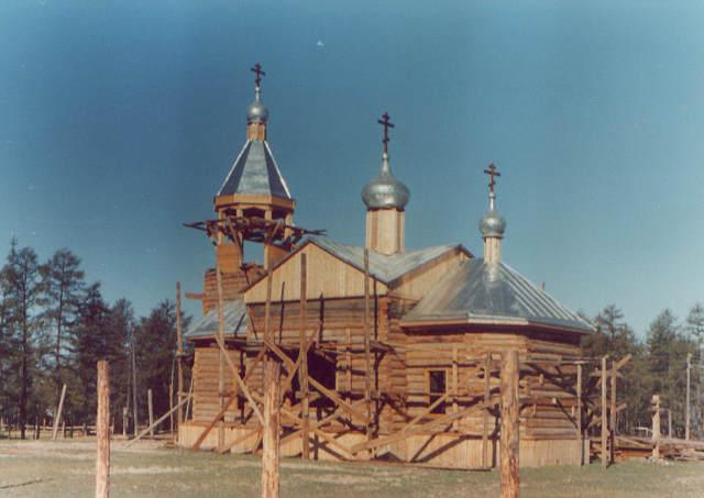 храм в Намцах, строительство, Якутия