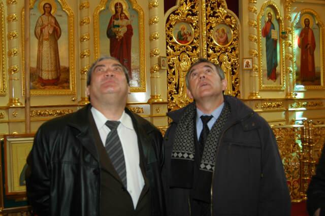 президент Якутии в храме