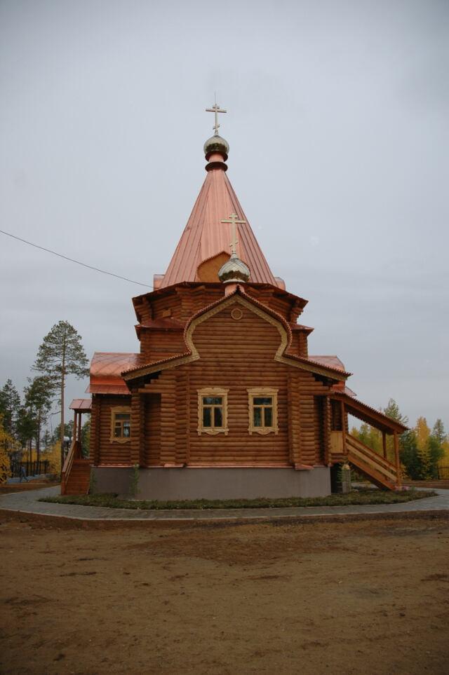 Храм в Светлом Светлинского храма, названный в честь иконы Владимирской Божией Матери