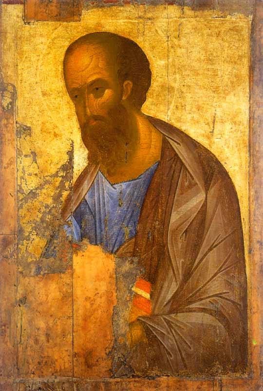 Андрей Рублёв. Апостол Павел