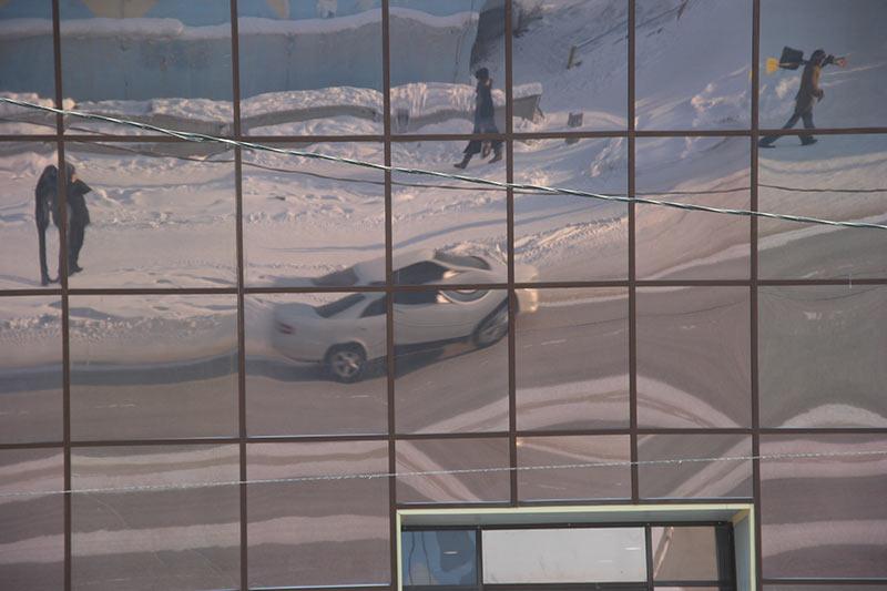 Машина в матрице
