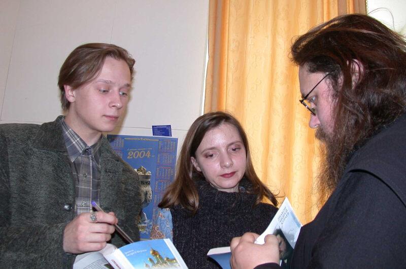 Андрей Кураев в Мирном