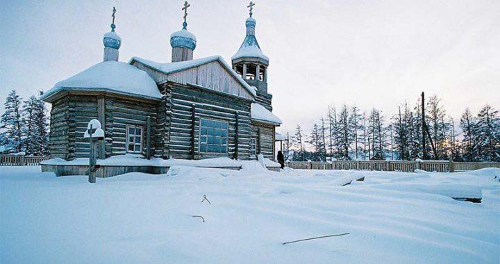 Деревянный храм в Намцах