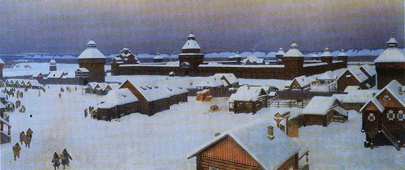 Якутск Начала 18 века
