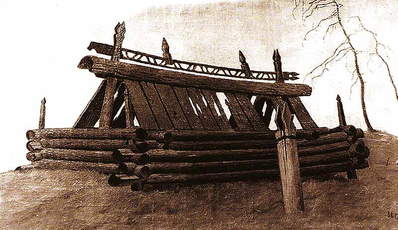 Надмогильник шамана Баспай