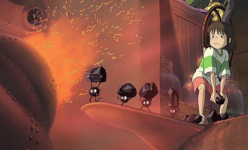 Кадр из мультфильма Унесенные призраками