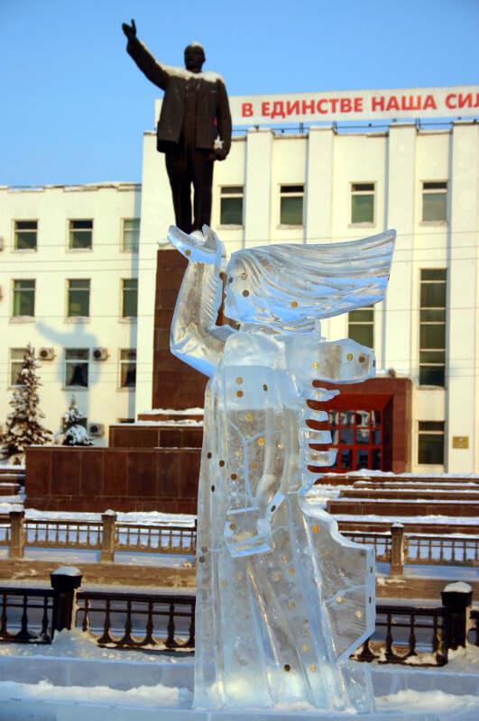 ледяные фигуры Якутск дп-2
