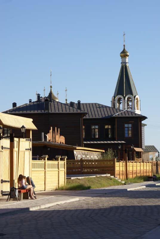 старый город Якутск Преображенка