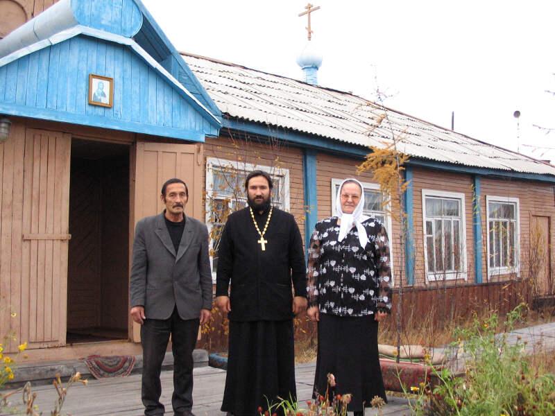 священник в Зырянке