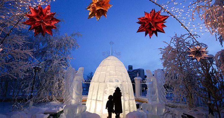 Преображенская церковь Якутск: ледяной вертеп