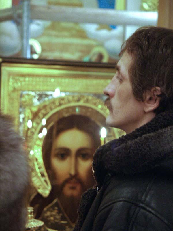 Икона Спасителя в храме