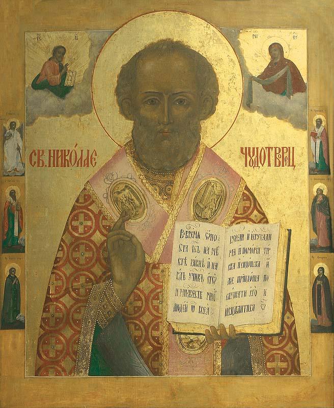Икона,  свт. Николай