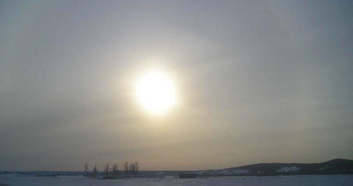 Крест на солнце