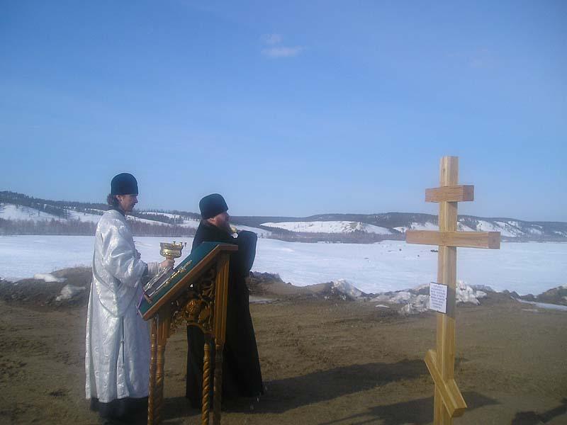 Владыка Зосима и диакон Владимир Торгов