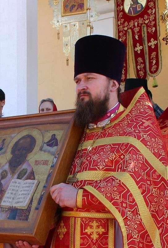 Священник Игорь Золотухин