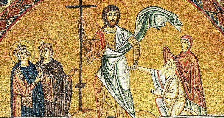 Мозаика Воскресения Христова. Монастырь святого Луки