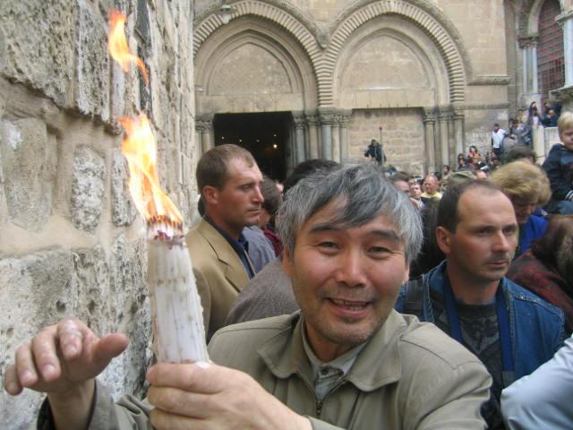 Никанор свечи благодатный огонь
