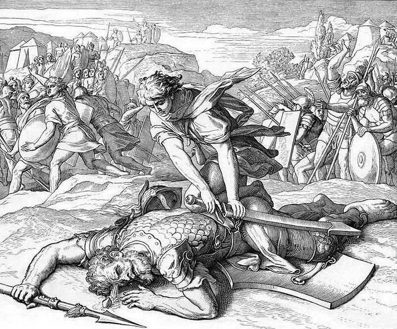 Победа Давида над Голиафом: Карольсфельд