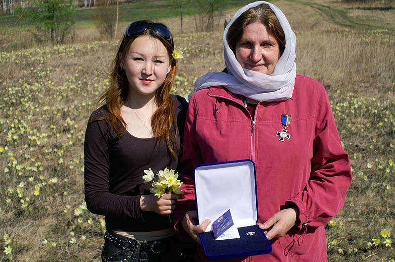 Ольга Вениаминовна Чакина и Маша Крылова