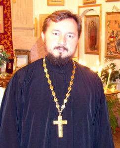 Священник Владимир Севрюков