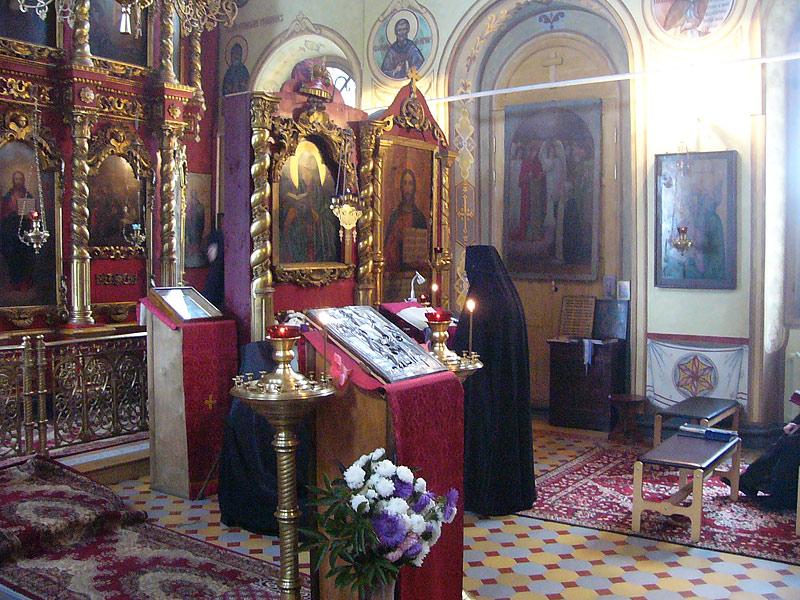 В барятинском храме