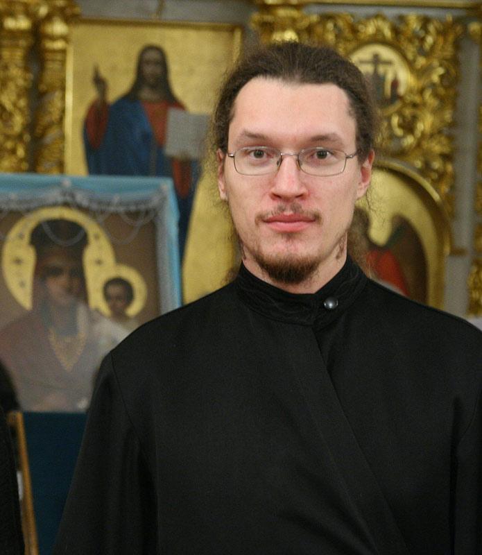 Насельник Киевского Свято-Введенского монастыря, иеродиакон АВЕНИР