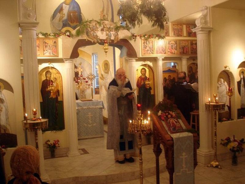 В церкви святой Екатерины