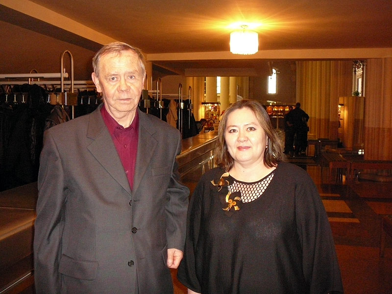 С Валентином Распутиным