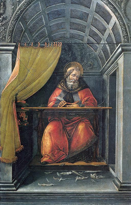 Сандро Боттичелли. Св. Августин. 1494.