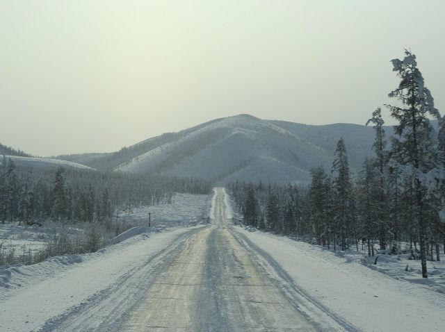 Зима в Якутии