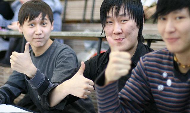 якутские студенты
