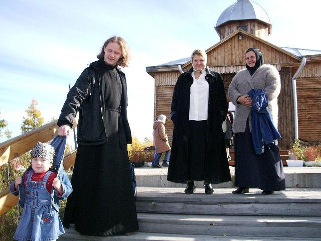 Якутия церковь священник Сергий Клинцов