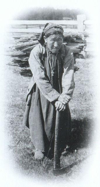 Якутская бабушка-христианка