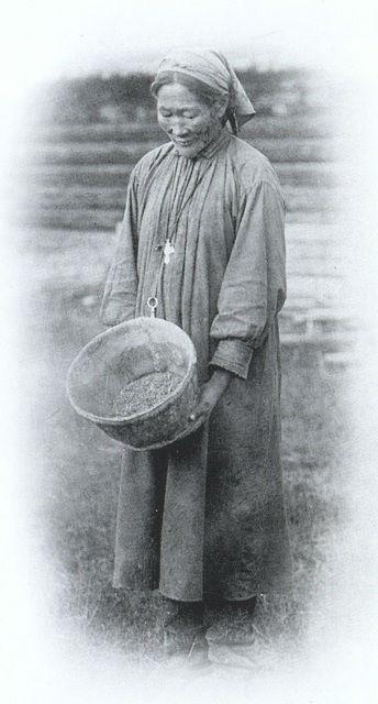 Якутка-христианка. Фото Ивана Попова