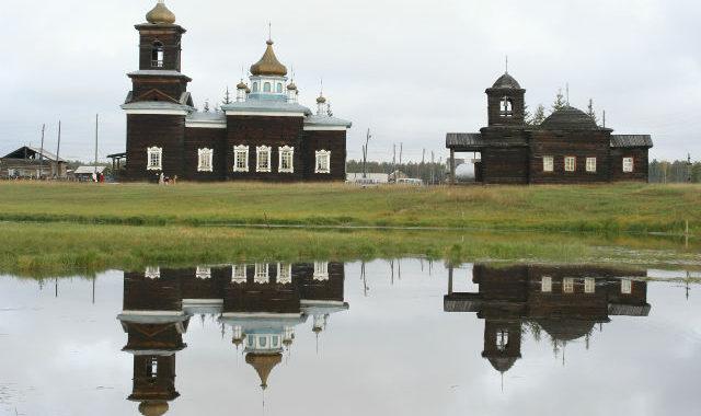 Храм в Якутии