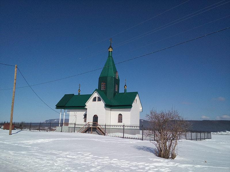 Свято-Никольский храм в с. Мача