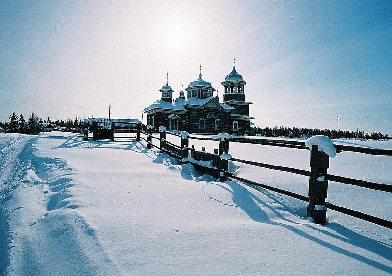 Николаевская Качикатская церковь в с. Кердем. Фото протоиерея Сергия Клинцова
