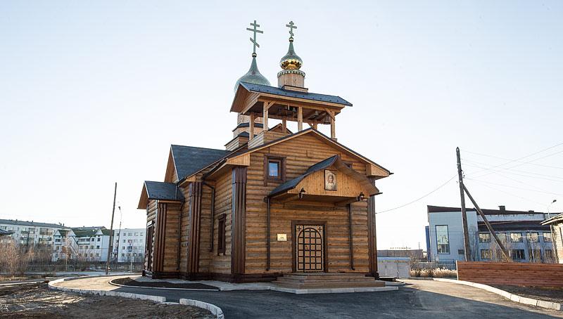 Храм во имя вмч. Георгия Победоносца Жатай