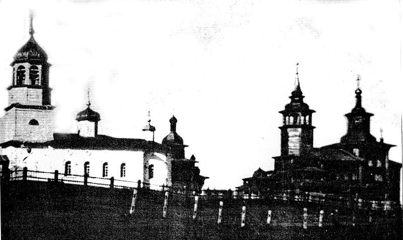 Три Кангаласские Покровские церкви