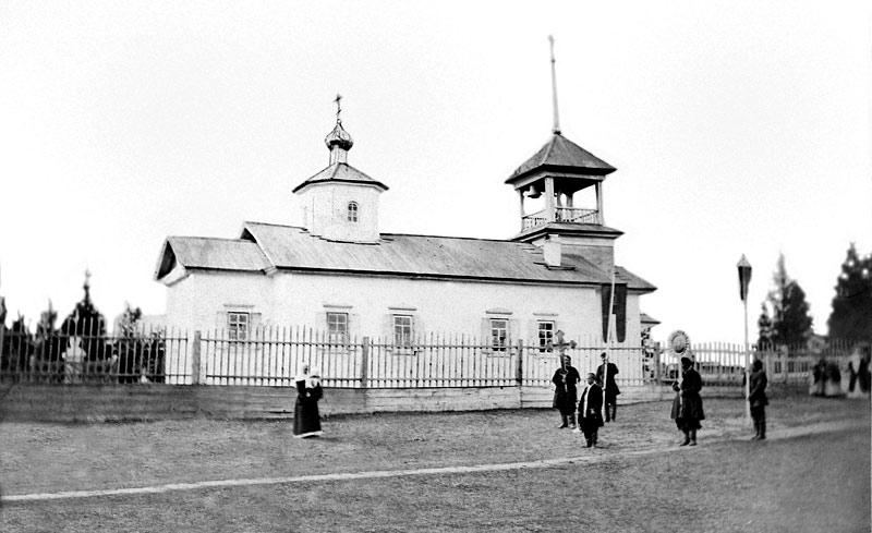 Крестный ход от Мачинской Николаевской церкви