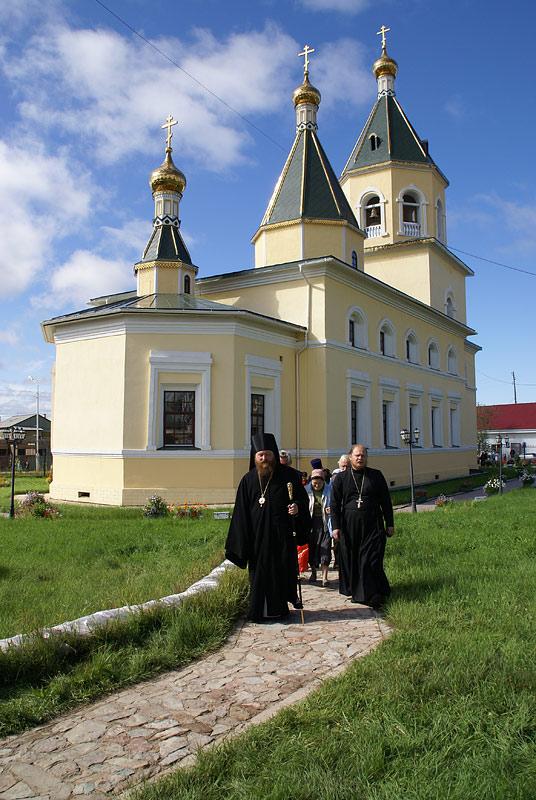 Спасский собор г. Олёкминска после восстановления. Фото протоиерея Сергия Клинцова