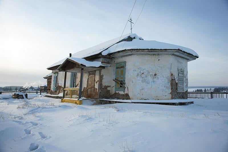 Здание Иннокентьевского храма в с. Берденка. Фото протоиерея Сергия Клинцова