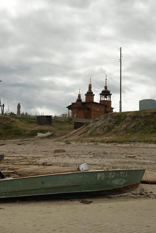 Николаевский храм Жиганск